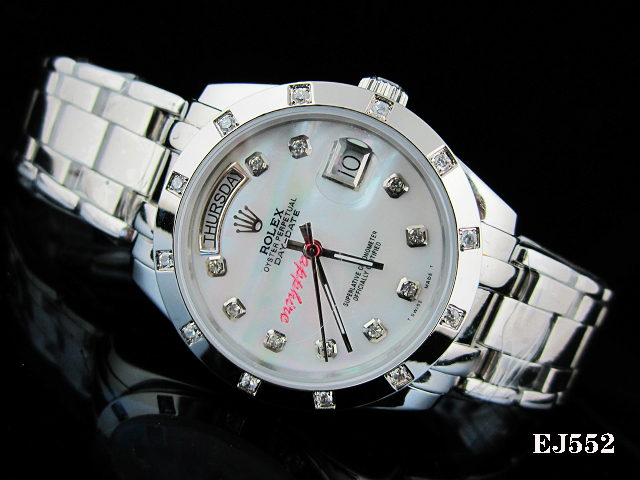 Rolex Watch 01741 Men's All-steel Wristwatches