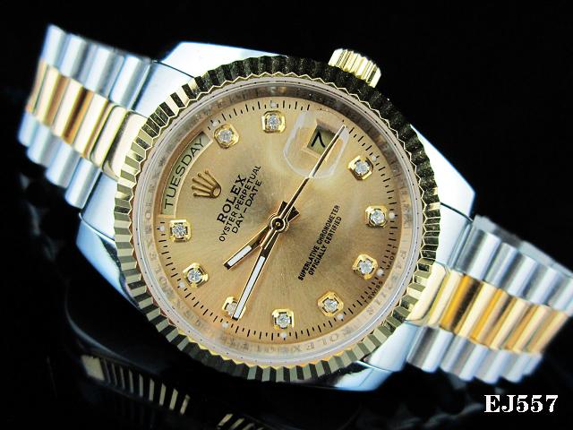 Rolex Watch 01745 Men's All-steel Wristwatches