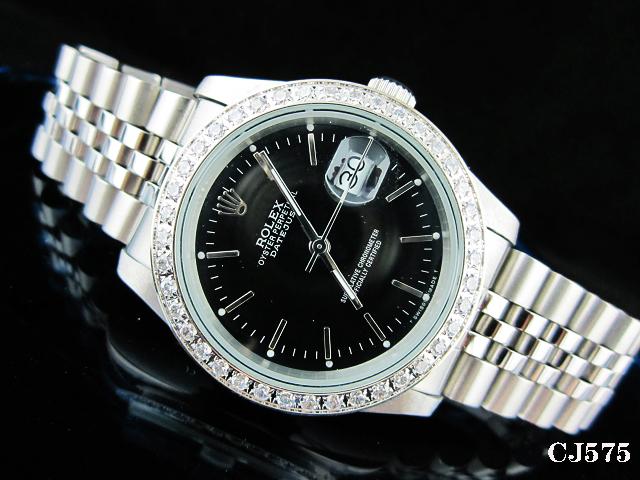 Rolex Watch 01762 Men's All-steel Wristwatches