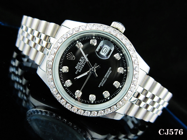 Rolex Watch 01763 Men's All-steel Wristwatches