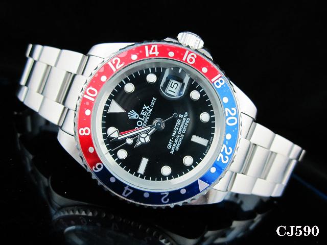 Rolex Watch 01777 Men's All-steel Wristwatches