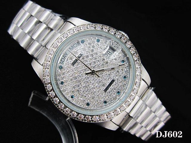 Rolex Watch 01789 Men's All-steel Wristwatches