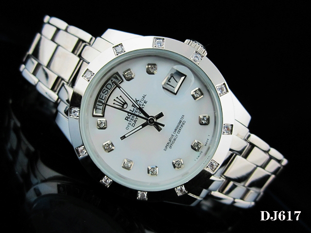 Rolex Watch 01800 Men's All-steel Wristwatches