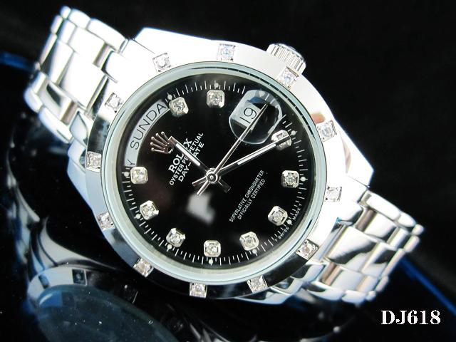 Rolex Watch 01801 Men's All-steel Wristwatches