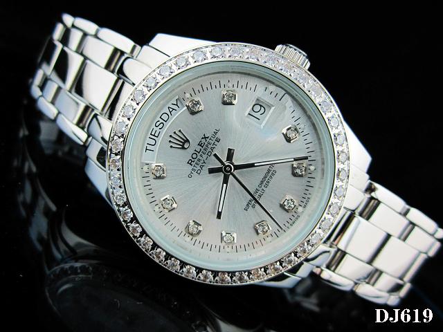 Rolex Watch 01802 Men's All-steel Wristwatches
