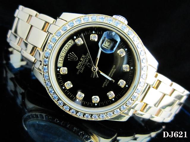 Rolex Watch 01804 Men's All-steel Wristwatches