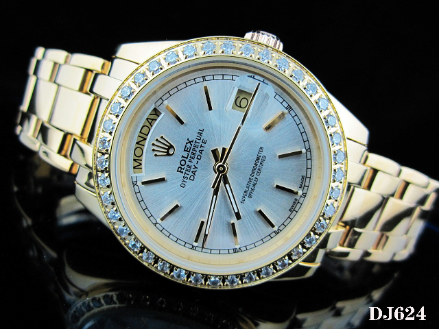 Rolex Watch 01807 Men's All-steel Wristwatches