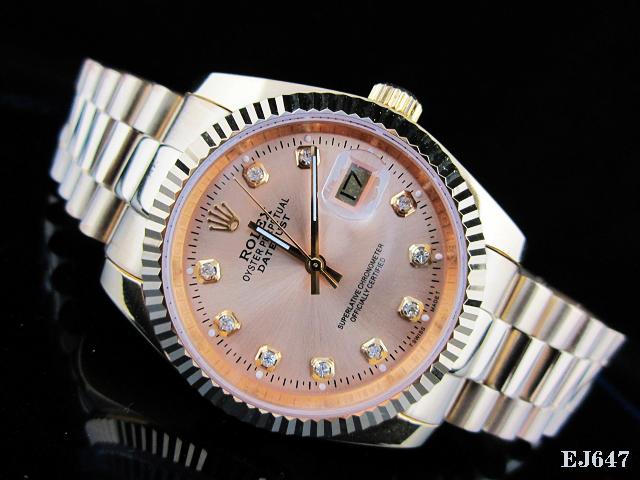 Rolex Watch 01829 Men's All-steel Wristwatches