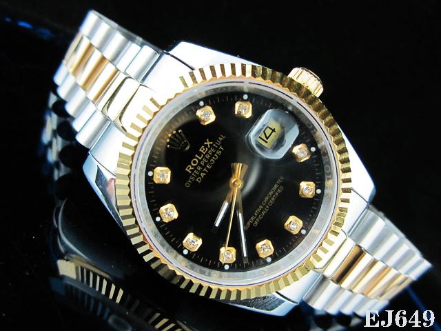 Rolex Watch 01831 Men's All-steel Wristwatches
