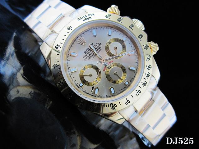 Rolex Watch 01834 Men's All-steel Wristwatches