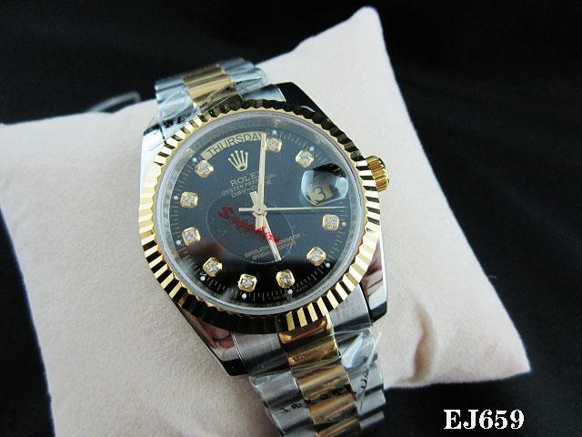 Rolex Watch 01852 Men's All-steel Wristwatches
