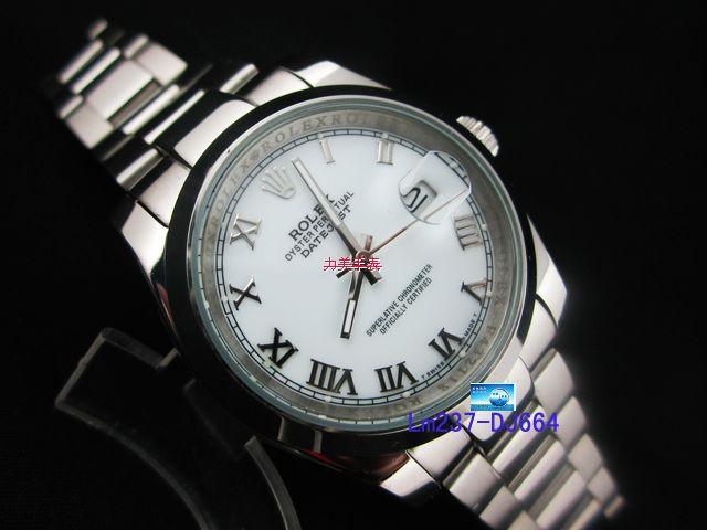 Rolex Watch 01856 Men's All-steel Wristwatches