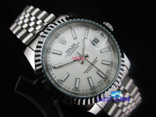 Rolex Watch 01857 Men's All-steel Wristwatches