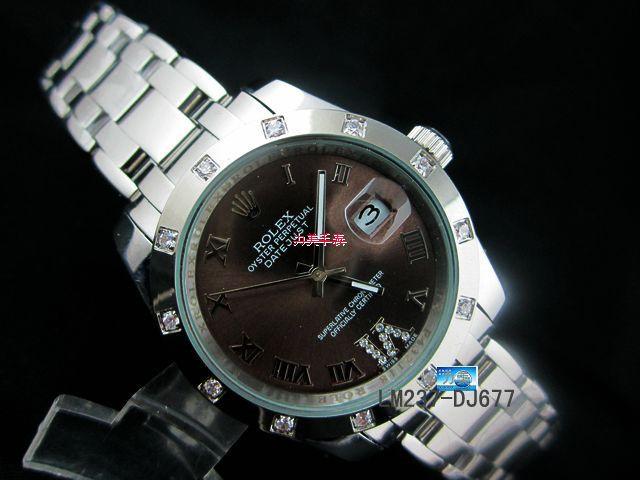 Rolex Watch 01869 Men's All-steel Wristwatches