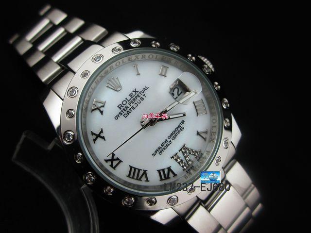 Rolex Watch 01872 Men's All-steel Wristwatches