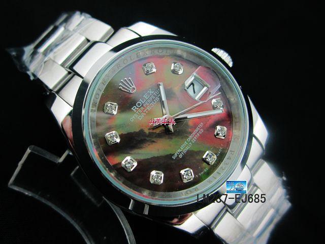 Rolex Watch 01877 Men's All-steel Wristwatches