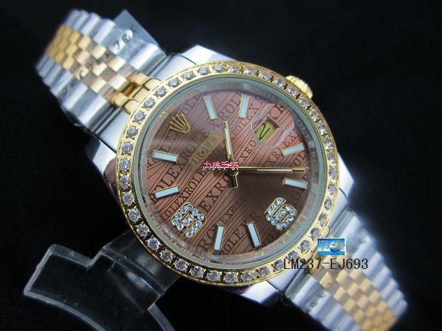 Rolex Watch 01885 Men's All-steel Wristwatches
