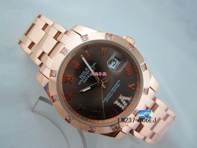 Rolex Watch 01897 Men's All-steel Wristwatches