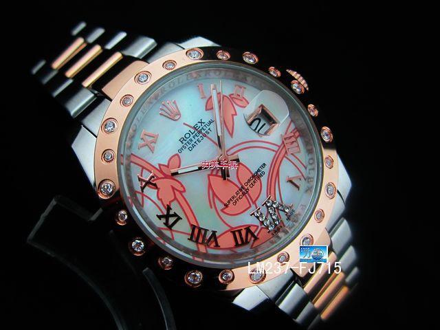 Rolex Watch 01907 Men's All-steel Wristwatches