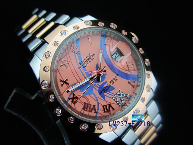 Rolex Watch 01908 Men's All-steel Wristwatches