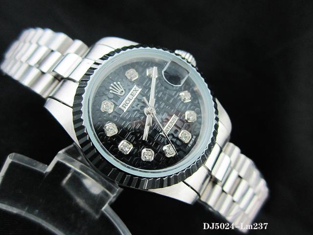 Rolex Watch 01939 Men's All-steel Wristwatches