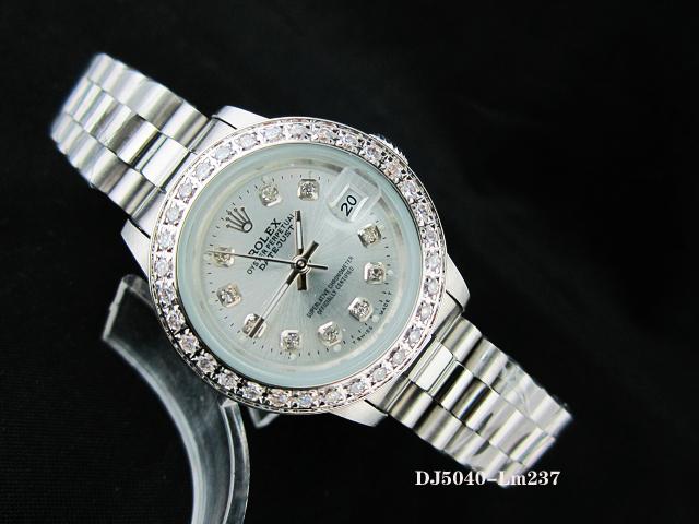 Rolex Watch 01955 Men's All-steel Wristwatches