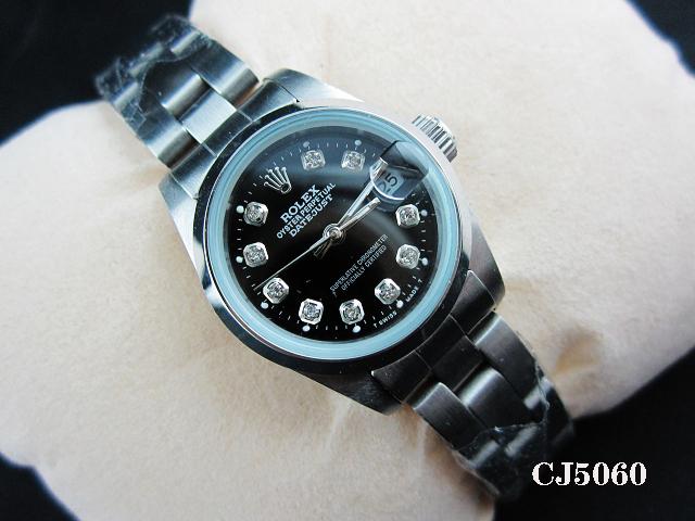 Rolex Watch 01968 Men's All-steel Wristwatches