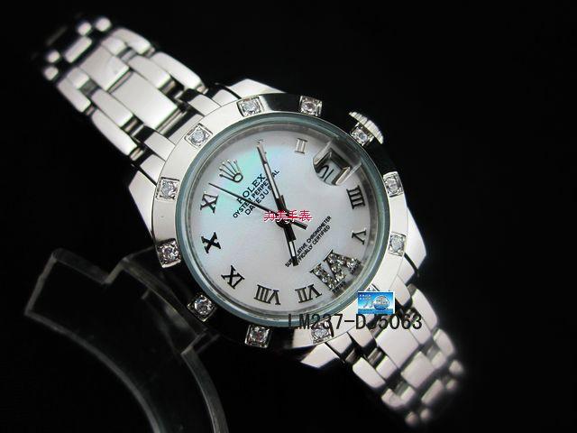Rolex Watch 01972 Men's All-steel Wristwatches