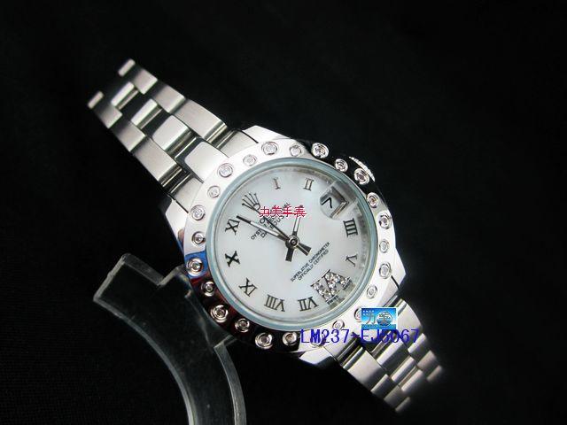 Rolex Watch 01976 Men's All-steel Wristwatches