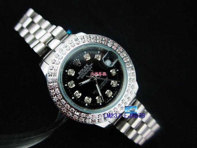 Rolex Watch 01987 Men's All-steel Wristwatches
