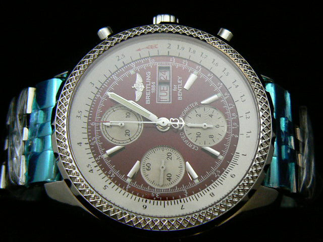 BREITLING BENTLEY GT ch rONO RED 7750