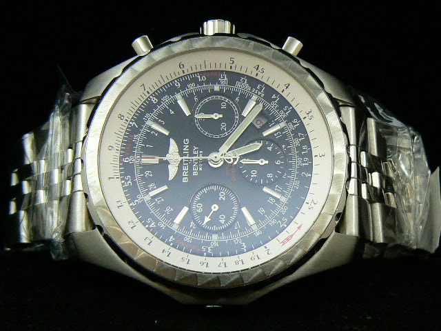 BREITLING BENTLEY MOTOR ch rONO BRUSHED SS 7750