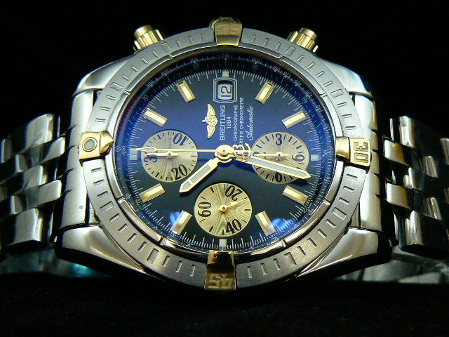 BREITLING EVOLUTION 2 TONE BLACK 7750 VERSION 2