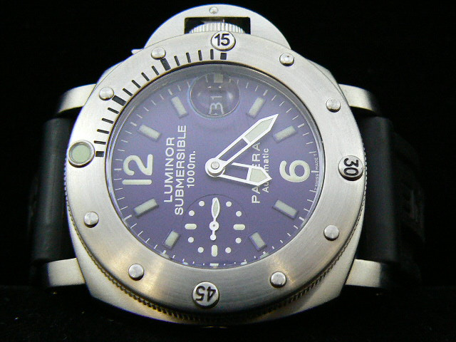 PAM 087 PANERAI SUBMERSIBLE 1000 BLUE 7750