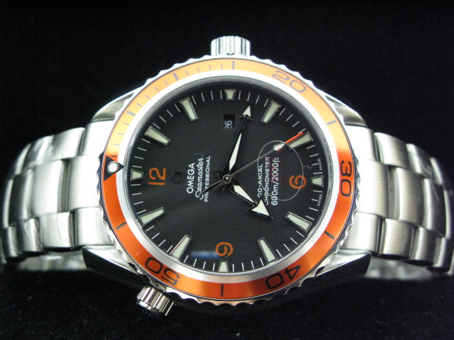OMEGA SEAmaste r PROFESSIONAL ORANGE BEZEL BLACK DIAL SS