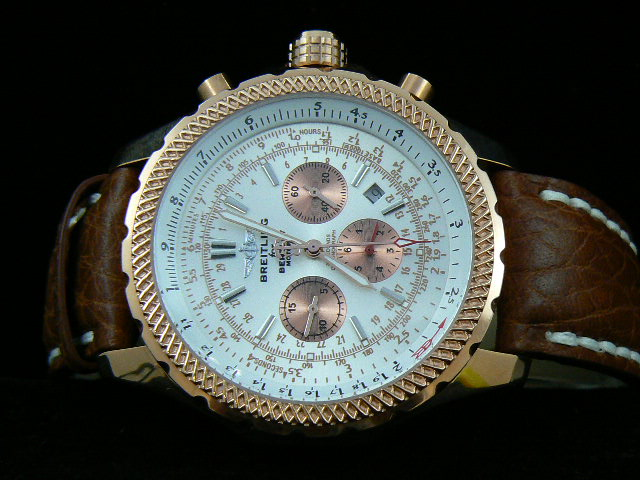 BREITLING BENTLEY MOTORS AUTOMATIC WHITE GOLD