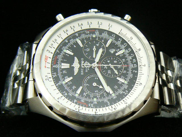 BREITLING BENTLEY MOTOR AUTOMATIC BLACK DIAL