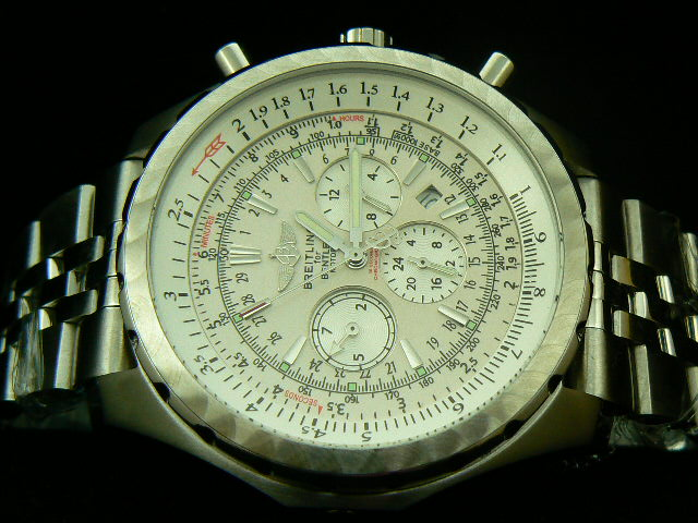 BREITLING BENTLEY MOTOR AUTOMATIC WHITE DIAL
