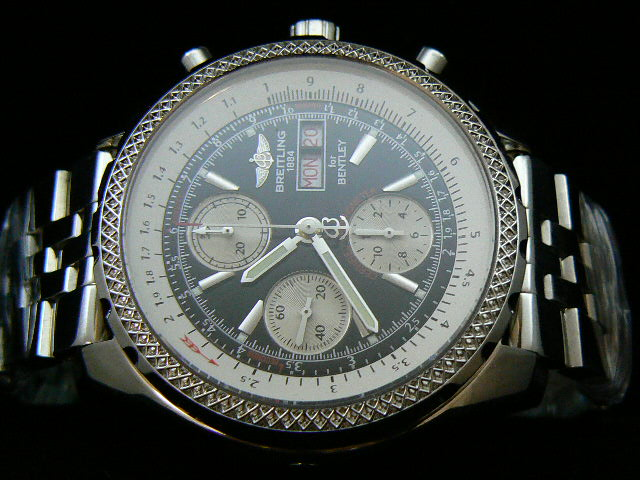 BREITLING BENTLEY GT ch rONO BLACK 7750 AAA