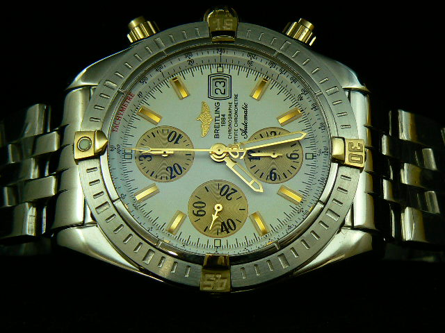 BREITLING EVOLUTION 2 TONE WHITE 7750 VERSION 2 AAA