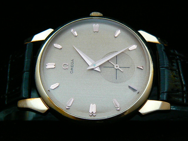 OMEGA CLASSIC AUTO LOUIS BRANDT LEATHER AA