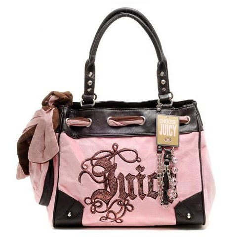 Juicy Couture Daydreamer Crest Handbag Pink