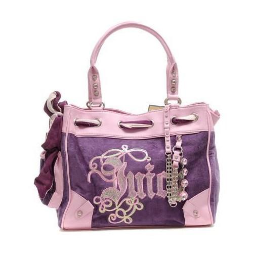 Juicy Couture Daydreamer Crest Handbag Purple-Pink