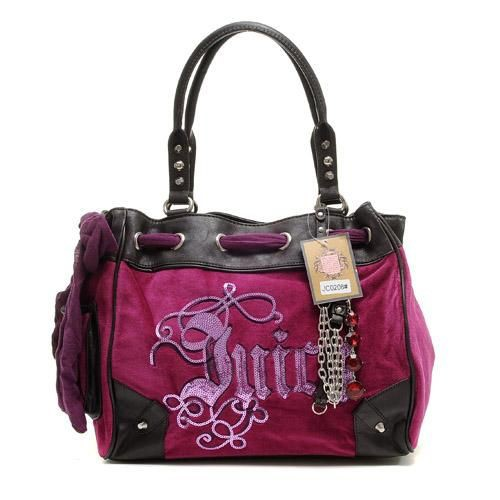 Juicy Couture Daydreamer Crest Handbag Rose