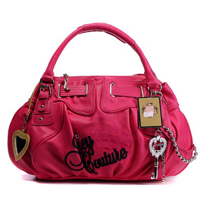 Juicy Couture Free Style Leather Handbag Red