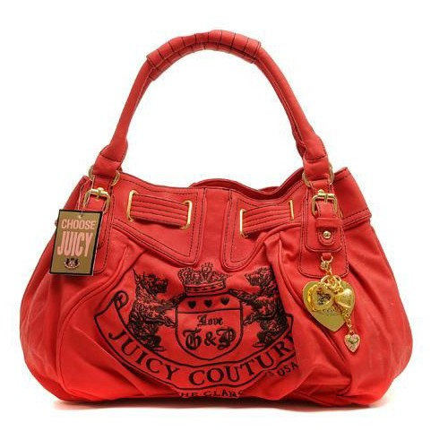 Juicy Couture Heritage Crest Free Style Leather Red