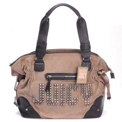 Juicy Couture Juicy Studs Shoulder Bag Coffee