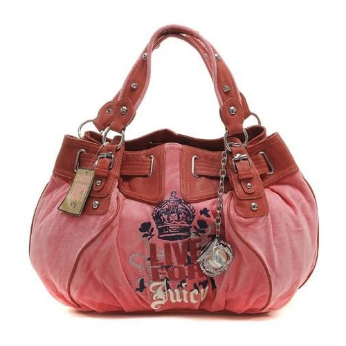 Juicy Couture Live For Juicy Free Style Velour Handbag