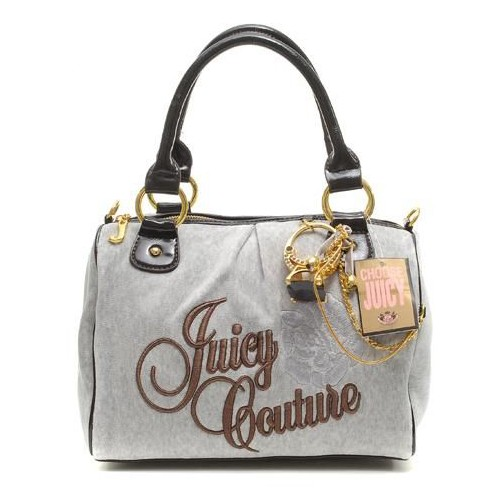 Juicy Couture Ring Bling Madge Handbag Grey