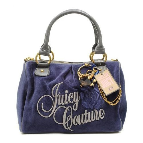 Juicy Couture Ring Bling Madge Handbag Navy
